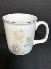 Enesco Precious Moments Mug Cup 1984 Vintage Mint New With Tag Made In Japan