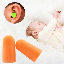 10 Pairs of Soft Foam Ear Plugs Sleep Work Travel Noise Prevention Earplugs NEW
