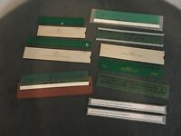 VTG 9 Spacing Guide and Drafting Art Lettering Templates-KE,WRICO,HANDY,TIMESAVE
