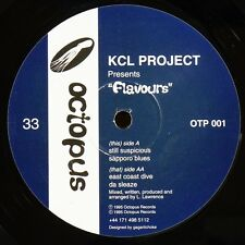 """KCL PROJECT FLAVOURS 12"""" RARE ORIGINAL MINT SEALED HOUSE CLASSIC 1995 OCTOPUS"""