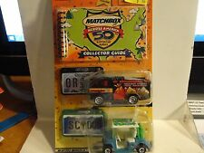 Matchbox Across America 2 Pack & Collectors Guide Oregon & South Carolina