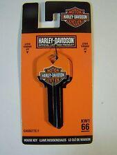 Harley Davidson  Kwikset House key blank