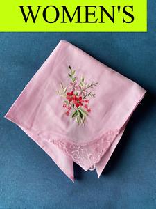 women's vintage cotton handkerchief
