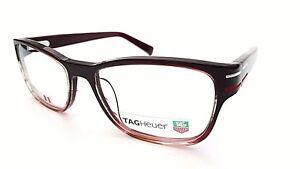 TAG HEUER DESIGNER FRAMES GLASSES IN BORDEAUX 0533 004 BRAND NEW t12
