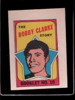 1971 Topps/OPC Booklet #10 Bobby Clarke  EXMT X1525607