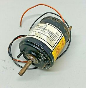 33882 ACi Blower Motor 3-Spd 2-wire NOS made n USA fits FORD Mustang Falcon more