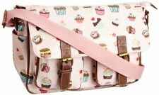 Lydc Girl s Cupcake Print Satchel Nude Pink SS01067