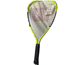 Wilson Xpress Racquetball Racquet Titanium Crushing Power (Black/Yellow)