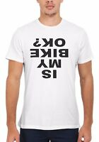 Is My Bike OK Cycling Funny Cool Men Women Vest Tank Top Unisex T Shirt 1795