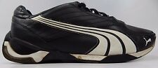 Puma Kart Cat II 2 Men's Leather Driving Shoes Size US 12 M (D) EU 46 Black