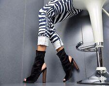 LUJO Zapatos Mujer Fiesta Club Botines negros 36/41