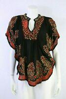 Women Top Tunic Poncho Batik Style Spring/Summer