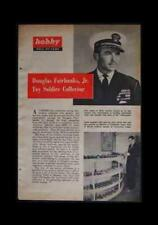 Douglas Fairbanks Toy Soldier Collector 1950 Pictorial