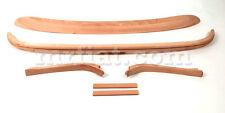 Mercedes Ponton 220 S SE Convertible Top Wood Set 6 Pcs New