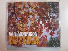 """VAN MORRISON MEET ME IN THE INDIAN SUMMER"""" 3 TRK UK IMPORT CD RARE & OOP!"""