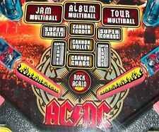 Flames - Pinball Machine Flipper Bat Topper MOD for Stern's AC DC & KISS Pinball