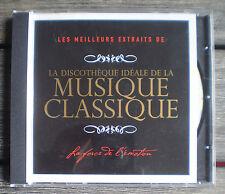 MUSIQUE CD  Album * LA DISCOTHÈQUE IDÉALE DE LA MUSIQUE CLASSIQUE * !!