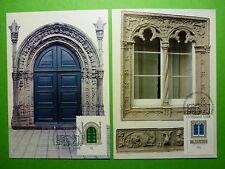 LOT 9366 CARTE MAXIMUM ARCHITECTURE AZORES ACORES PORTUGAL ANNEE 1994