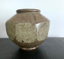 Japanese Mingei Ceramic Jar by Tatsuzo Shimaoka