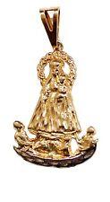 Caridad del Cobre y Juanes Yoruba Pendant 18K Gold Plated Necklace