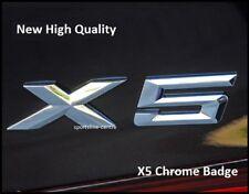 NUOVO CHROME X5 posteriore avvio tronco Badge Emblema Lettering Lettere numero per BMW X5c