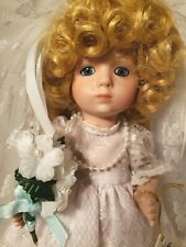 Vtg 1991 Marie Osmond 1991 Playing Bride First Edition Miracle Children Melinda