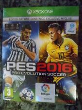 PRO EVOLUTION SOCCER 2016 PES 16 Day One Edition Xbox One Nuevo Juego físico