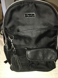 Itzy Ritzy Boss Babe Backpack Diaper Bag - Black Herringbone Used For Photos