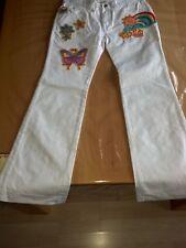 neu Jeans Sommerhose Hose von Nolita Pocket Hippie in Größe 158 in weiß