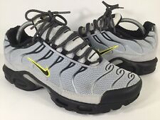 separation shoes d85ae fad8a Nike Air Max Plus Tn Custom Black Grey White Mens Size 9.5 Rare 604133-098