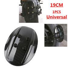 190mm Motorcycle Rear Carbon Fibre Style Fender Mudguard Fit For Honda Kawasaki