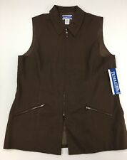 Pendleton Vest Warranted To Be A Pendleton Knockabouts Women's Zippered Vest Nwt