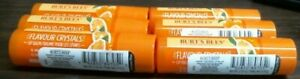 6-Pack Burt's Bees Flavor Crystals 100% Natural Lip Balm Sweet Orange
