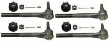 Moog Set Of 2 Inner & 2 Outer Tie Rod End for Chevy K1500 K2500 K3500 4WD 88-00