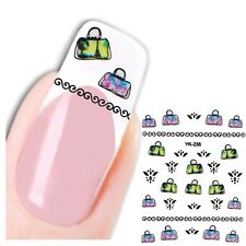 3D Nagel Sticker Nail Art Hand Tasche New Design Kult Aufkleber Water Decall