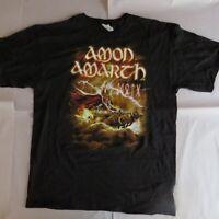 Amon Amarth Thor Tour- Large-Licensed T-Shirt-Brand New