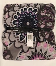 "Vera Bradley Throw Blanket Mimosa Medallion 50"" x 80"""