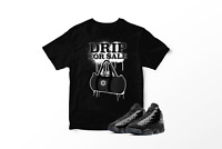 DRIP 4 SALE Tee Shirt To Match AIR JORDAN 13 CAP & GOWN Short Sleeve Pro Club