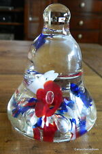 Vintage RICE KDP 1997 RED WHITE BLUE Paperweight FREE SHIPPING