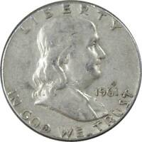 1961 Franklin Half Dollar AG About Good 90% Silver 50c US Coin Collectible