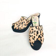 Miss L Fire Leopard Platform Sandals