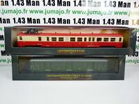 Lot 9AM AM1+29 2 train Automotrices SNCF 1/87 HO : etat type z + z 7100
