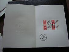FRANCE -document 1er jour 22/12/1990 (albertville saut a ski) (cy48)french(R