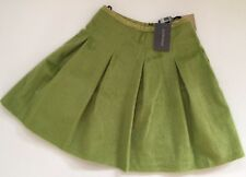 Ladies Antipodium Faux Ponyskin Facade Skirt. In Celadon. Size 10
