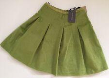 Ladies Antipodium Faux Ponyskin Facade Skirt. In Celadon. Size 10