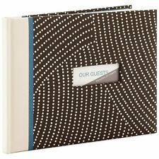 Hallmark White Dots Guest Book