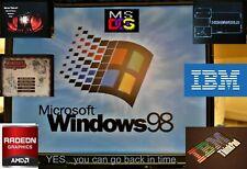 IBM THINKPAD RETRO Alienware like Laptop Windows 95 98 DOS Gaming SSD Pent 4