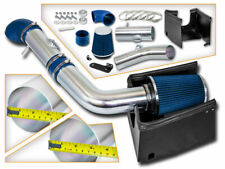 BCP BLUE 05-08 Ford F150 5.4L V8 Heat Shield Cold Air Intake System + Filter