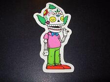 "KRUSTY SIMPSONS MUERTO Art Sticker Print 2X4"" DIA DE LOS muertos JOSE PULIDO"