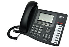 D-LINK DPH-400SE VOIP SIP IP PoE Phone LCD display WAN LAN Echo Cancel Memory